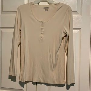 Long sleeves Henley shirt